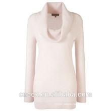 15STC3004 cowl neck cashmere tunic