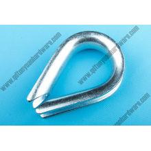 Gréement de matériel européen Type câble Thimble