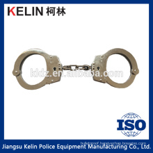 Chrome finished police handcuffs HW-045W