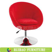 Cadeira de tábua giratória de tecido Cadeira de bar ajustável de uso geral