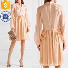 Blush seda-georgette Mini vestido de la fabricación al por mayor de prendas de vestir de las mujeres de moda (TA4093D)