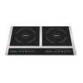 CE CB Approved Two-Zone Induction Cooker Model Sm20-DIC05