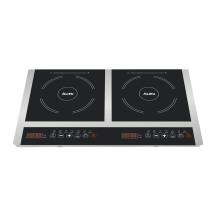 O CE CB aprovou o fogão dobro SM20-DIC05 do fogão de indução do tampo da mesa dos queimadores