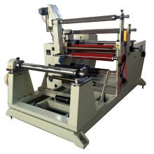 Máquina automática de rebobinamento de folha de alumínio profissional