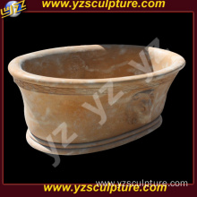 Cheap Natural Stone Bathtub Carving For Sale