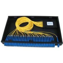 Rack Mounted Fiber Optical Terminal Box , 19 Inch PLC Split