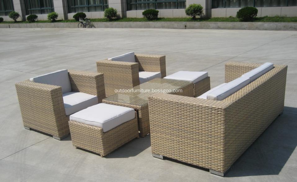 DLR1108 Garden Comfortable Classic Sofa Furniture Set