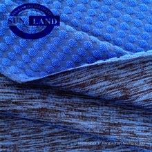 vêtement de sport vêtements 90 polyester 10 spandex jacquard tricot melange spandex terry tissu