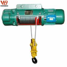 Capacidad de carga de la grúa Motor de elevación de cuerda de alambre del motor eléctrico de 5 toneladas