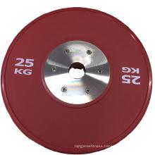 High Quality Custom Weightlifting Barbell Bumper Plate