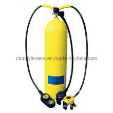Diving Aluminum Gas Cylinder Set (2.9L)