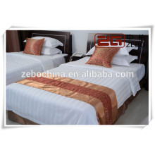 Pure Cotton Competitive Preis Hotel Gebraucht White Complete Bettwäsche Sets