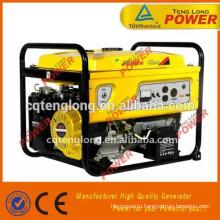 Горячие Продажа 2014 Электрический старт Портативный генератор с батареей
