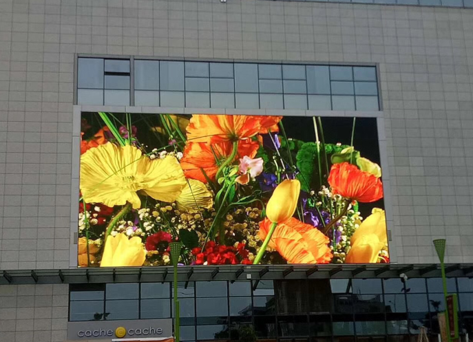 Energy save led display