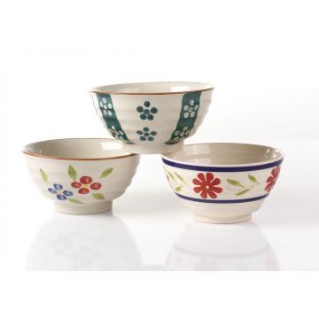 Ceramic salad bowls rice bowls cereal bowl