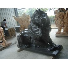 Stone Granite Marble Lion Sculpture for Garden Animal Statue (SY-D057)