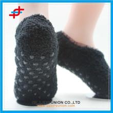 Новые прибывающие трикотажные противоскользящие носки для пола лодыжки производитель