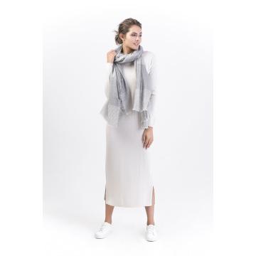 Moonlight-90%Wool &10%Cashmere Ladies Scarf