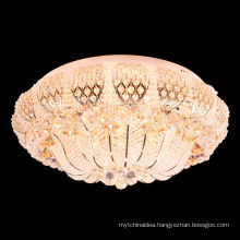 Crystal Lighting Fixture Ceiling Flush Mount Elegant-52064