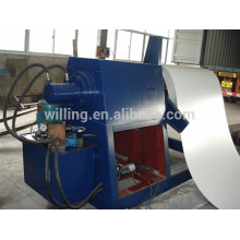 Hydraulic uncoiler machine for color steel sheet