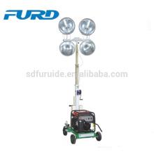 Torres verticales de luz LED de mástil para iluminación móvil industrial (FZM-1000B)