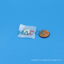 Imán de botón de neodimio de PVC 1/2
