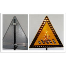 Customize Aluminum Traffic Warning Sign Aluminum Triangle Circle
