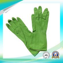 High Quality Garden Latex Cleaning Work Gloves with ISO9001 Approved