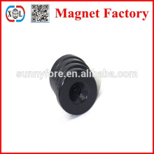 electric magnet motor rubber coated neodymium magnets