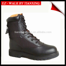 MA1 Military boots with black leather and rubber outsole