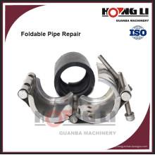 Abrazadera de tubo de acero galvanizado / acero inoxidable RCD