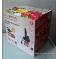 Impresión de caja de cartón corrugado / caja de embalaje de papel corrugado