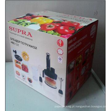 Impressão de caixa de cartão ondulado / caixa de embalagem de papel ondulado