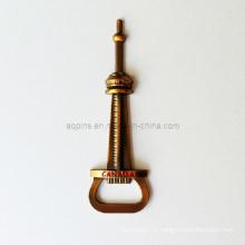 Outil de bouteille personnalisé dans le placage d'or antique