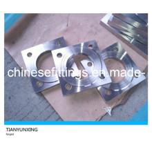 Flanges quadradas de aço não-padronizadas forjadas