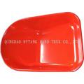 Metal de carretilla de rueda 78L bandeja pintada