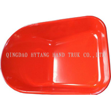 78L wheel barrow metal painted tray