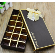 Gift Box Hot sale chocolate packaging boxes custom LOGO chocolate truffles packaging gift box