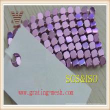 Bon marché décoratif / métal / maille de rideau en métal