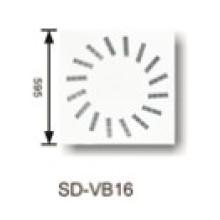 Air Conditioning Ventilation Iron Sheet Square Slot Diffuser