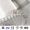 16MM Clear U-LOCK Soft Textile polycarbonate sheet
