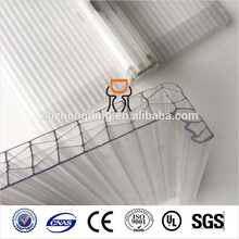 16MM Clear U-LOCK Soft Textile Polycarbonat-Folie