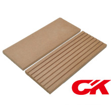 WPC Decking Floor Solid Outdoor Board Bois Placé Composite Decking
