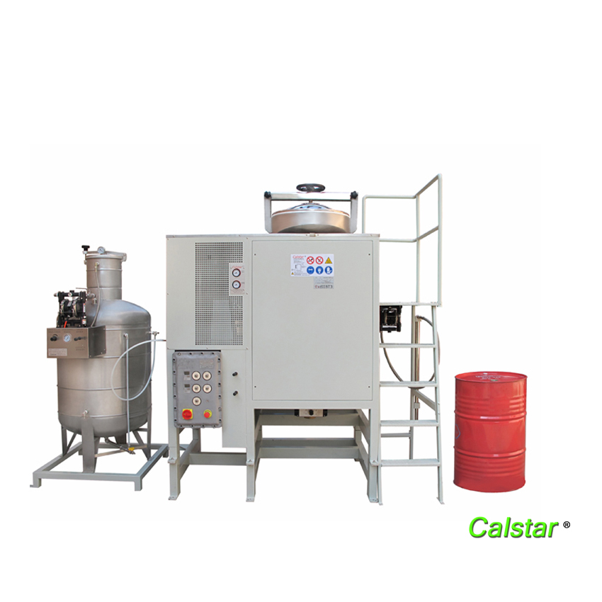 Solvent Recovery Machine and Cars