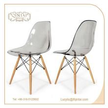 haltbarer Neupreis Kristall Kunststoff Salon Stuhl zu verkaufen