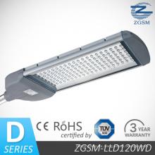 Energía ahorro 120W CE RoHS LED luz de calle con Driver Meanwell