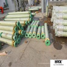 Материал полиуретана принять frp трубы для горячего источника воды Транспортируя