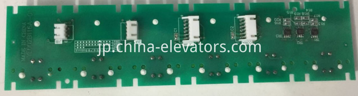 Push Button for Mitsubishi Elevator LHB-056A