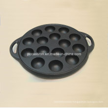 Preseasoned Cast Iron Bakeware for Cake
