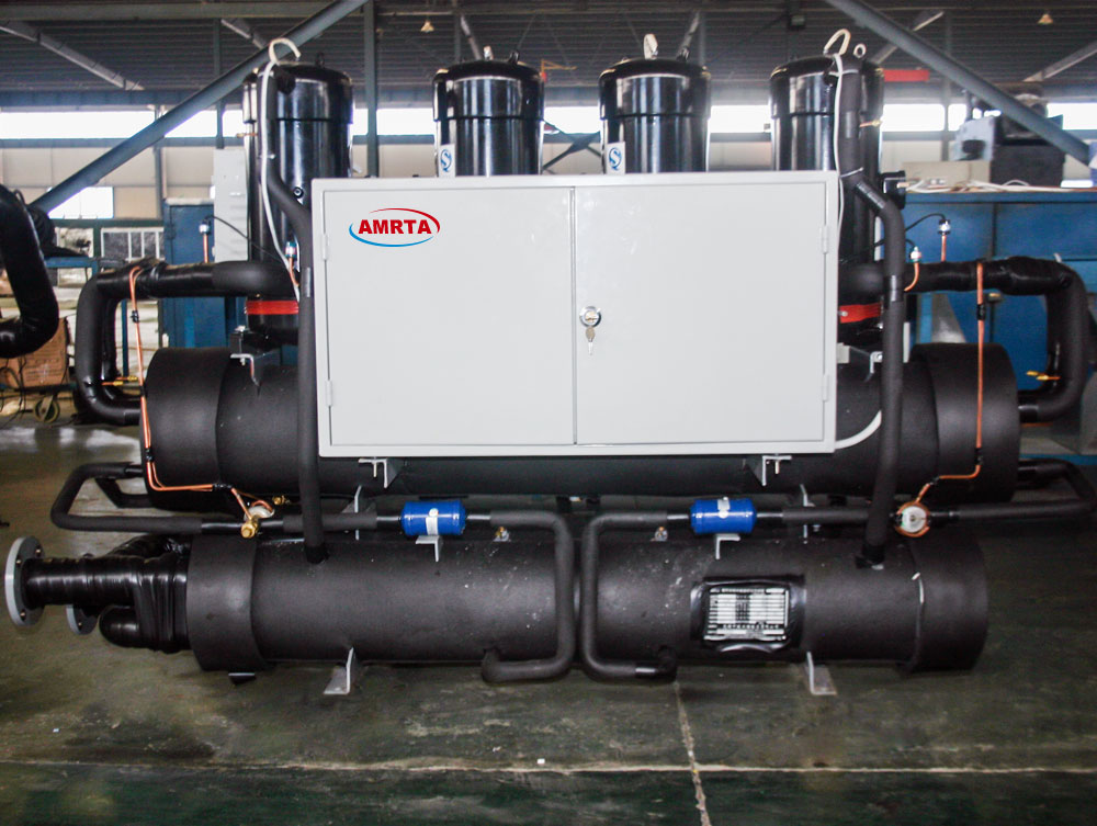 Scroll Industrial Water Cooling Chiller for Plastic Machinery